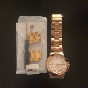 Michael Kors Rose Gold 38mm watch